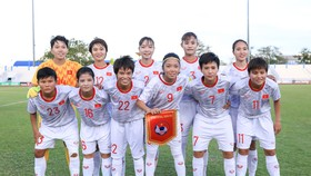 ĐT nữ Việt Nam với cú đúp vô địch trong năm 2019. Ảnh: Đoàn Nhật