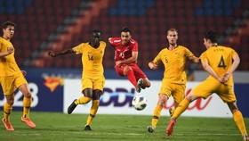 U23 Syria không thể làm nên chuyện trước Australia. Ảnh: AFC
