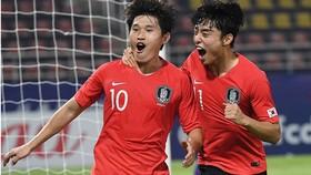 Hàn Quốc thể hiện sức mạnh trước Australia. Ảnh: AFC