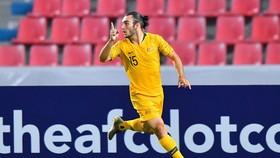 D'Agostino ghi bàn cho Australia. Ảnh: AFC