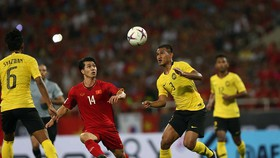 ĐT Việt Nam gặp nhiều trở ngại ở giai đoạn chuẩn bị cho trận gặp Malaysia. Ảnh: Hải Đăng/VFF