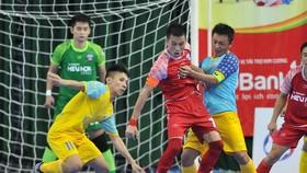 Trận Đà Nẵng thắng SS Khánh Hòa 5-2 ở mùa giải 2019. Ảnh: Anh Trần