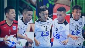 Thái Sơn Nam lấn lướt ở tốp 5 Quả bóng vàng futsal 2019. Ảnh: TSNFC