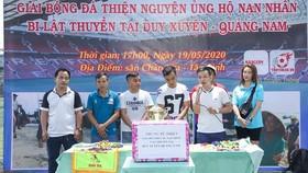Văn Vũ chia sẻ về mục đích của trận đấu.