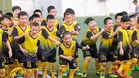 Lớp bóng đá cộng đồng của cựu tuyển thủ Ngọc Châm.