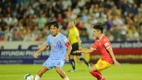 Đà Nẵng giành 1 điểm trên sân Hà Tĩnh. Ảnh: Minh Hoàng