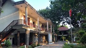 Một góc khu vực nhà nghỉ của các VĐV