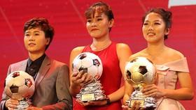 Huỳnh Như và Tuyết Dung tại Gala trao giải QBV Việt Nam 2019