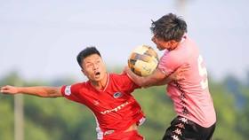 Văn Hậu đã có trận đầu tiên cùng CLB Hà Nội sau 1 năm vắng bóng