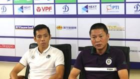 HLV Chu Đình Nghiêm và thủ quân Văn Quyết