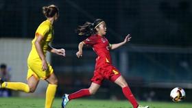 Huỳnh Như và các đồng đội vừa thắng Than KSVN 2-0 ở trận chung kết Cúp QG 2020 mới đây