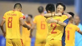 HLV Nguyễn Thành Công khi còn dẫn dắt Thanh Hóa