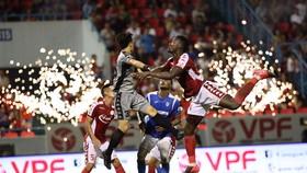 CLB TPHCM từng gây bất ngờ khi thắng Than QN 3-0 ở giai đoạn 1 ngay trên sân Cẩm Phả
