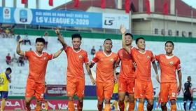 Hữu Thắng vừa cùng CLB Bình Định giành ngôi vô địch giải hạng Nhất 2020