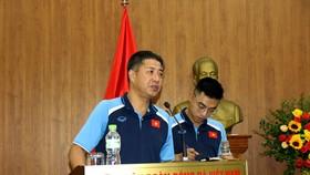 Ông Adachi phát biểu tại buổi khai mạc
