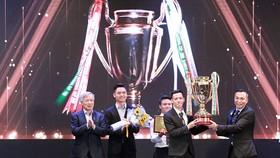 Hà Nội thắng lớn với 3 danh hiệu cá nhân. Ảnh: MINH HOÀNg