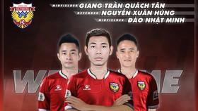 Hà Tĩnh FC chính thức đón thêm 3 tân binh