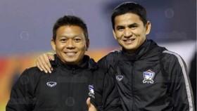 Kiatisak sẽ đưa Abhisit cùng sang HAGL để làm trợ lý cho mình