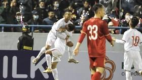 U22 Việt Nam 2 lần vượt lên dẫn trước. Ảnh: MINH HOÀNG