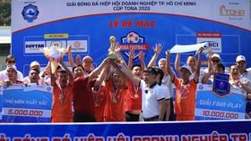 Đạt Vĩnh Tiến FC vô địch mùa giải 2020