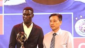 Ông Võ Minh Trí tại Gala trao giải Quả bóng vàng Việt Nam 2019