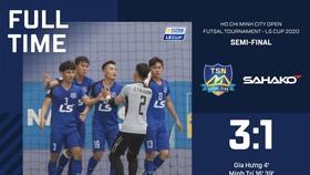 Chiến thắng cách biệt của Thái Sơn Nam ở trận bán kết