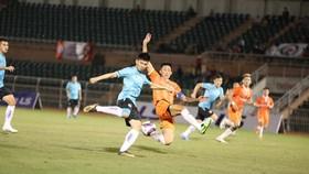 Topenland Bình Định tranh chung kết cùng Sài Gòn FC. Ảnh: Nguyễn Hoàng