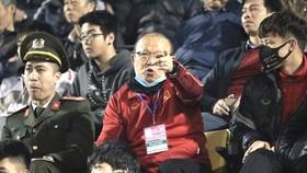 HLV Park Hang-seo lên lịch vào sân Quy Nhơn. Ảnh: Hữu Thành