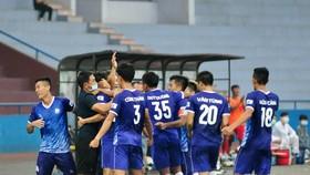 Khánh Hòa nhiều hy vọng giành chiến thắng ở vòng 2. Ảnh: KHFC