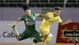 Sài Gòn FC sa sút nhanh sau mùa bóng trước. Ảnh: VPF