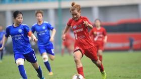 Than KSVN thắng dễ đội Hà Nội II với tỷ số 5-1. Ảnh: MINH HOÀNG