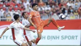 Topenland Bình Định trong trận gặp Viettel