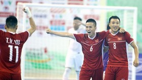 ĐT Futsal Việt Nam sẵn sàng cho trận tranh play-off