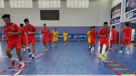 ĐT futsal Việt Nam sẽ có 2 trận giao hữu trước khi so tài cùng Lebanon