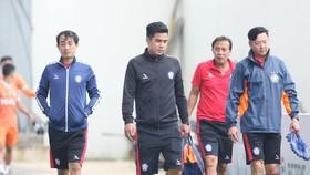 BHL đội Đà Nẵng có nhiều biến động giữa mùa bóng. Ảnh: FBNV