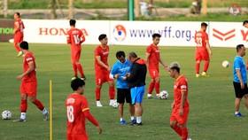 Từ ngày 18-5, quân số đội tuyển sẽ hội đủ 37 cầu thủ