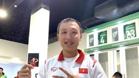 Minh Trí bày tỏ cảm xúc sau trận đấu