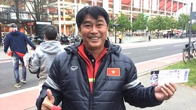 HLV Trần Minh Chiến