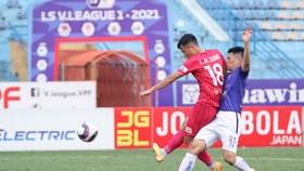 CLB Sài Gòn và CLB Hà Nội cùng nhẹ áp lực khi AFC Cup bị hủy. Ảnh: SGFC