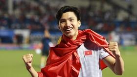 Văn Hậu sẽ là thủ lĩnh của đội tuyển U23 Việt Nam tại vòng loại U23 châu Á 2022. Ảnh: Thiều Anh