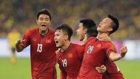 Đội tuyển Việt Nam hiện đang là ĐKVĐ AFF Cup. Ảnh: MINH HOÀNG