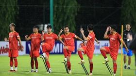 Đội U22 Việt Nam đã chính thức đi vào tập luyện từ đầu tuần