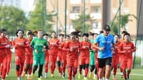 Đội tuyển nữ Việt Nam đã bước sang tuần tập luyện thứ năm tại Hà Nội