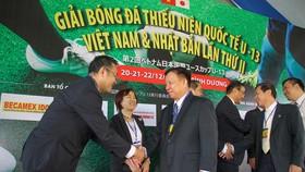 CLB Kawasaki Frontale cùng CLB Becamex Bình Dương đã liên tục thực hiện các hoạt động trên khắp lãnh thổ Việt Nam trong thời gian qua. Ảnh: DŨNG PHƯƠNG