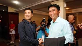 HLV Trần Minh Chiến đến gần với ghế HLV CLB TPHCM. Ảnh: DŨNG PHƯƠNG