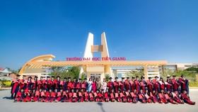 Trường ĐH Tiền Giang với nhiều ngành học mới thu hút đông đảo các tân sinh viên