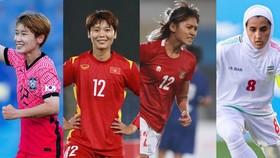 Các chân sút được kỳ vọng tỏa sáng ở VCK Asian Cup nữ 2022. Ảnh: AFC