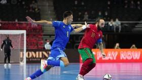 Bồ Đào Nha vất vả vượt qua Kazakhstan. Ảnh: FIFA
