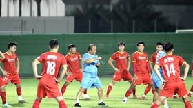 Đội tuyển Việt Nam hướng đến mục tiêu giành điềm trong cuộc so tài với đội Trung Quốc