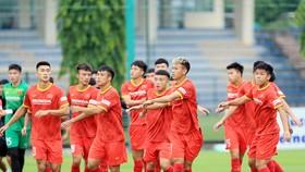 U22 Việt Nam đang tập huấn tại UAE